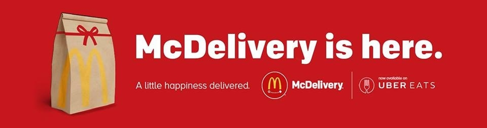 Read Full Article - McDelivery is now live!
