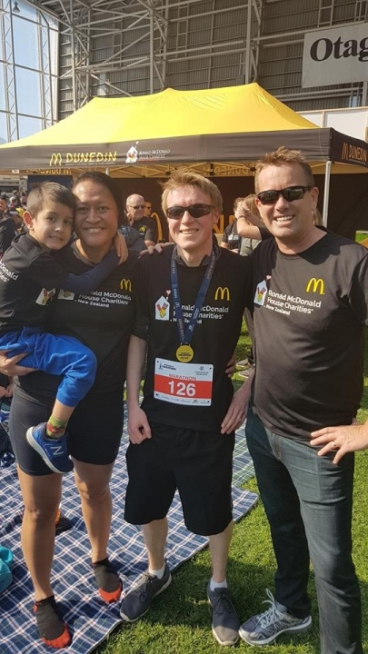 Read Full Article - Running the Dunedin Marathon to support RMCH